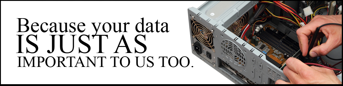 your data is important